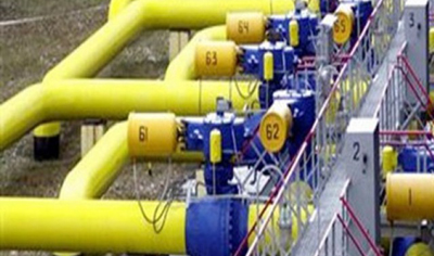 gas pipe line 400