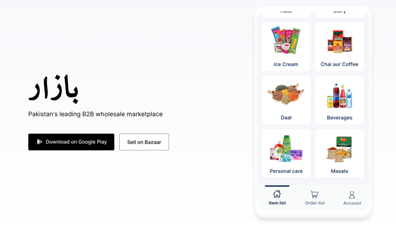 Pakistan's B2B Ecommerce Startup Bazaar Raises $6.5m in Seed - Technology - Business Recorder