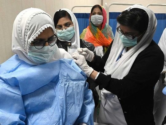 Health workers in Punjab reluctant to get vaccinated against COVID-19