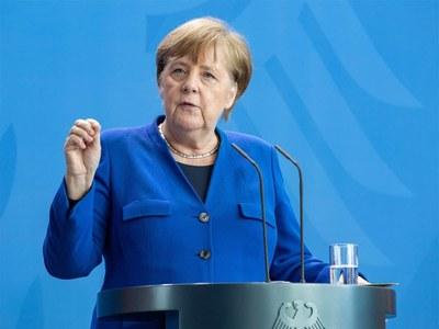 Germany's Merkel condemns racist 'murder' of George Floyd