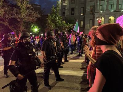 Denver police ordered to stop using tear gas and plastic bullets in protests
