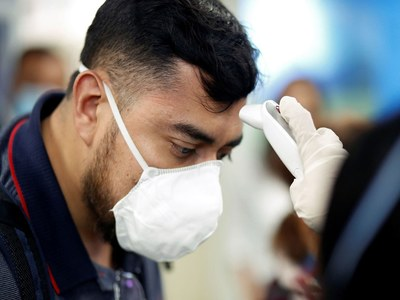 Coronavirus toll at 1100 GMT Saturday