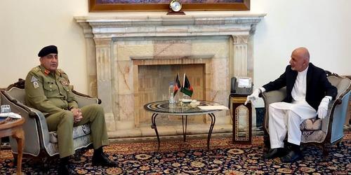COAS meets Afghan President Ghani in Kabul