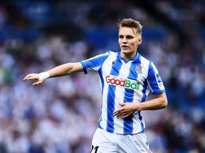 Real Sociedad eager to keep Odegaard for another season