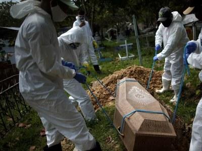 Brazil virus deaths top 40,000, 1.5m cases in Latin America