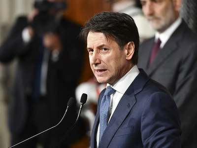 Italy's PM eyes digital investment as post-covid policy debate opens