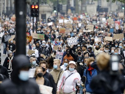 UK police urge anti-racism and counter protesters not to rally