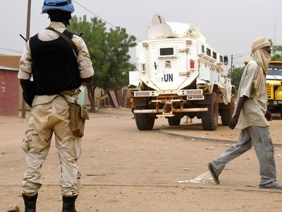 Two UN peacekeepers killed in attack in northern Mali
