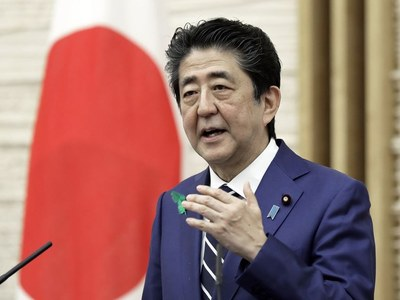 Japan 'can't move ahead' with US missile defence system: PM