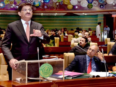 Budget 2020-21: CM Murad presents Rs1.24 trillion Sindh budget