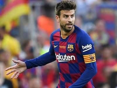 Pique pessimistic about Barca title hopes