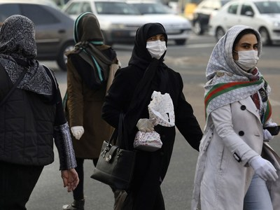 Iran reports over 100 new virus deaths for third day running