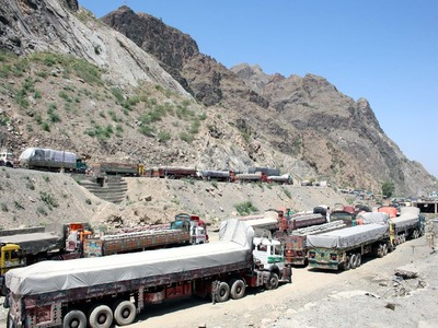 Pakistan opens Ghulam Khan terminal from today allows transit trade from Afghanistan