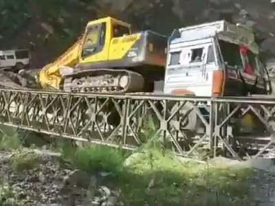 Bridge near India-China border collapses