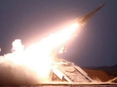 Saudi coalition says intercepts Huthi missile on Riyadh