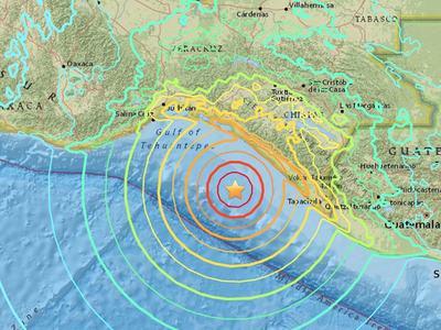 Tsunami alert for Mexico, C.America, Ecuador Pacific coast after strong quake