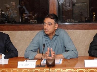 Asad Umar chairs NCOC