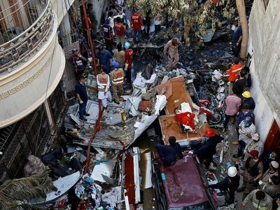 PIA plane crash occurred due to negligence of pilots and ATC, NA told