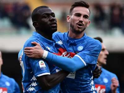 City lead race to sign Napoli's Kouliably