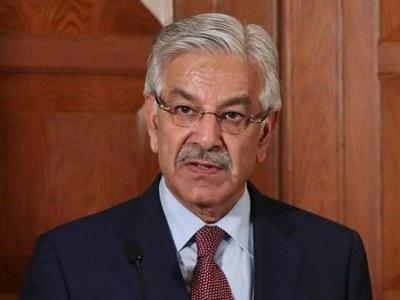 "Khwaja Asif slams PM for calling Osama bin laden ""martyr"""