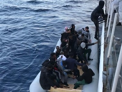 15 migrants rescued off Belgian coast
