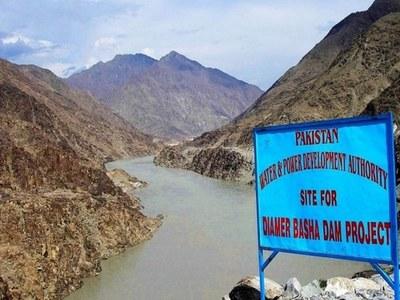 WAPDA chief visits Diamer Basha Dam project