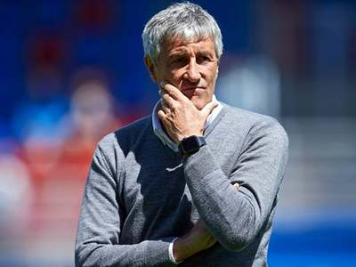 Setien's time at Barcelona is about to end
