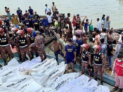At least 30 die in Bangladesh ferry accident