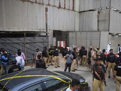Terrorist attack on Pakistan Stock Exchange