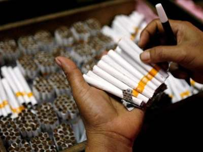 Huge quantity of smuggled cigarettes seized