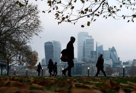 UK businesses turn less negative for first time since January: survey