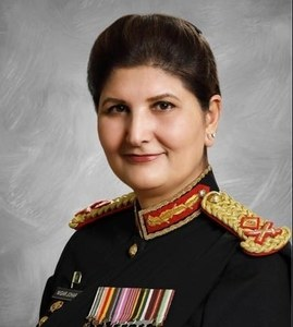 Major General Nigar Johar becomes first woman to get promoted to lieutenant general