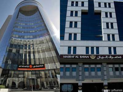 Qatar banks Al Khaliji and Masraf Al Rayan begin merger talks
