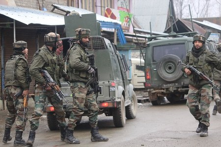 Three-year-old boy survives after his grandfather killed by Indian troops in Jammu Kashmir