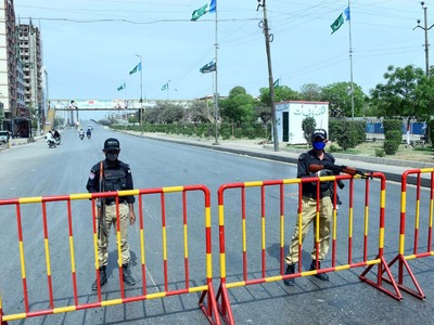 Sindh extends Covid-19 lockdown for 15 days