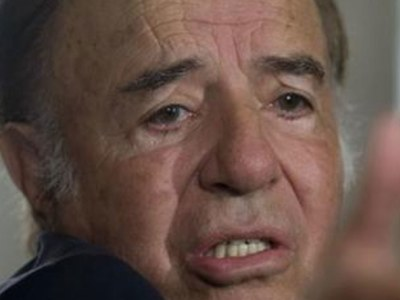Argentine ex-president Menem back in hospital with breathing difficulties