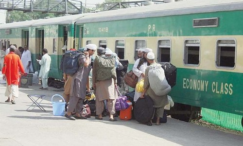 At least 20 die as Shah Hussain Express train crashes into coaster