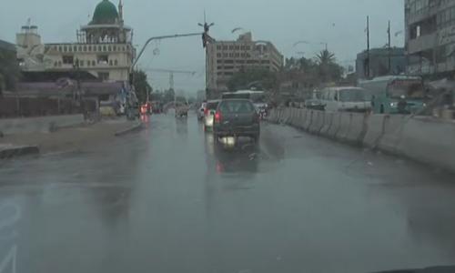 Five killed as first spell of monsoon rains hit Karachi