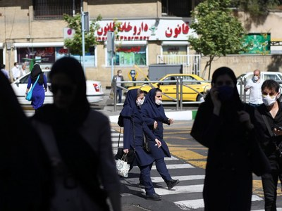 Iran's daily virus deaths near record high