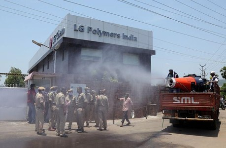 Indian police arrest 12 officials of LG Polymers over gas leak