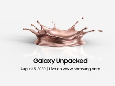Samsung announces unpack event for Note 20, Galaxy Z Fold 2