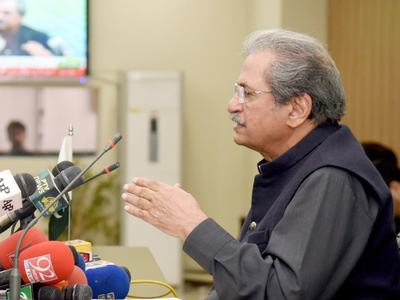 Educational institutions to open from Sept 15: Shafqat Mahmood