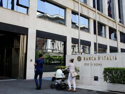 Bank of Italy lowers 2020 GDP forecast to -9.5pc