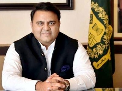 Chaudhry Fawad supports Khawaja Asif' statement on temple construction