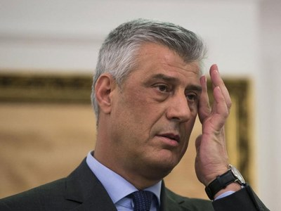 Kosovo's Thaci, at war crimes court, says 'nobody can rewrite history'