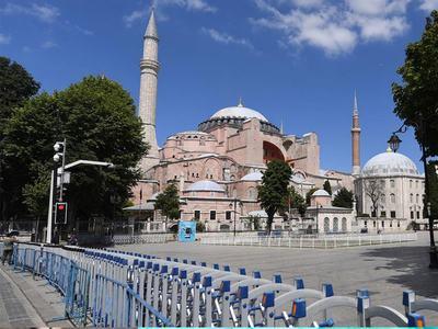 Moscow says Turkey's Hagia Sophia move an 'internal affair'