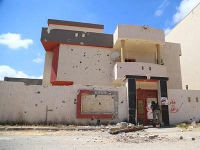 US says Russia group laid mines around Tripoli