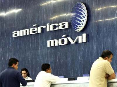 Shares in America Movil rise more than 4pc after profits jump