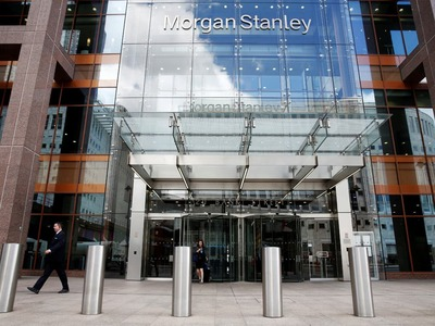 Morgan Stanley profit jumps 45pc on trading boom