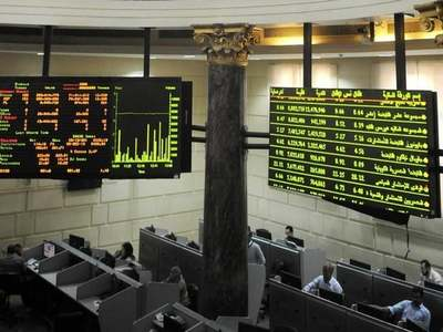 Egyptian shares fall while Saudi index holds steady